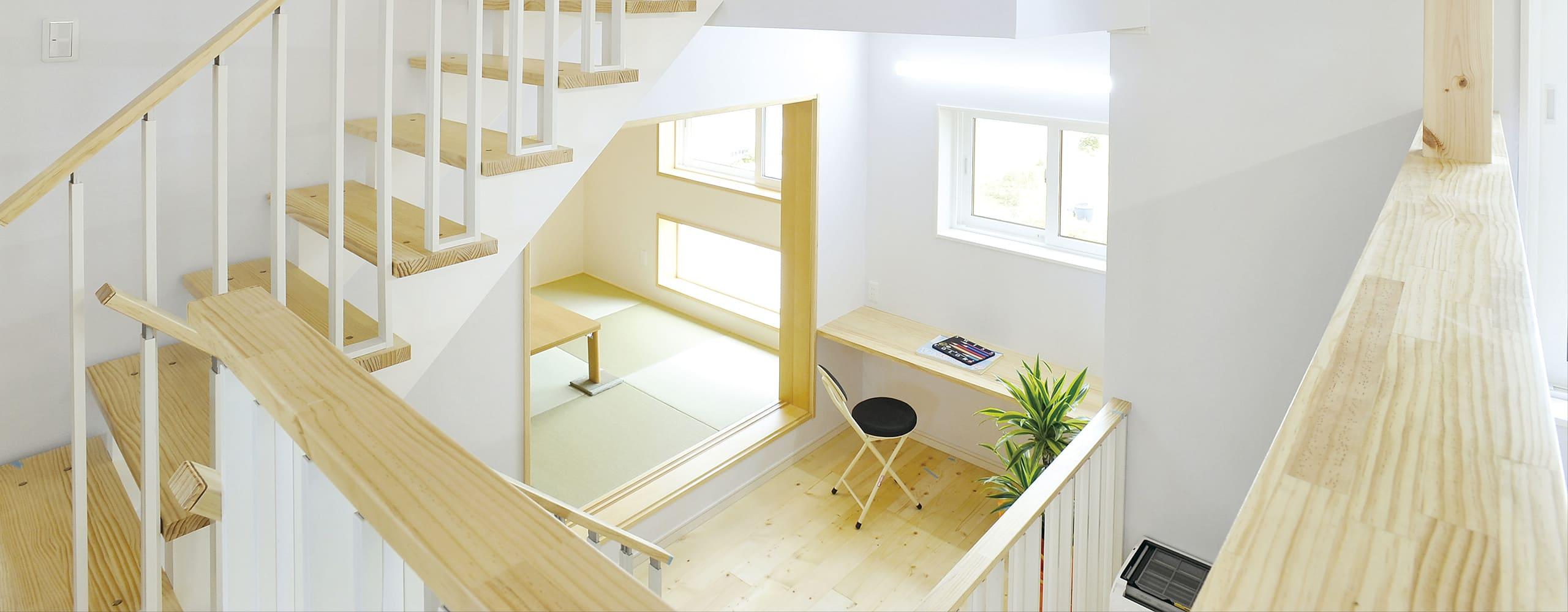 空間利用が生み出す多層構造のイメージ写真