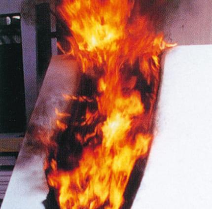 他素材燃焼実験の参考写真を紹介