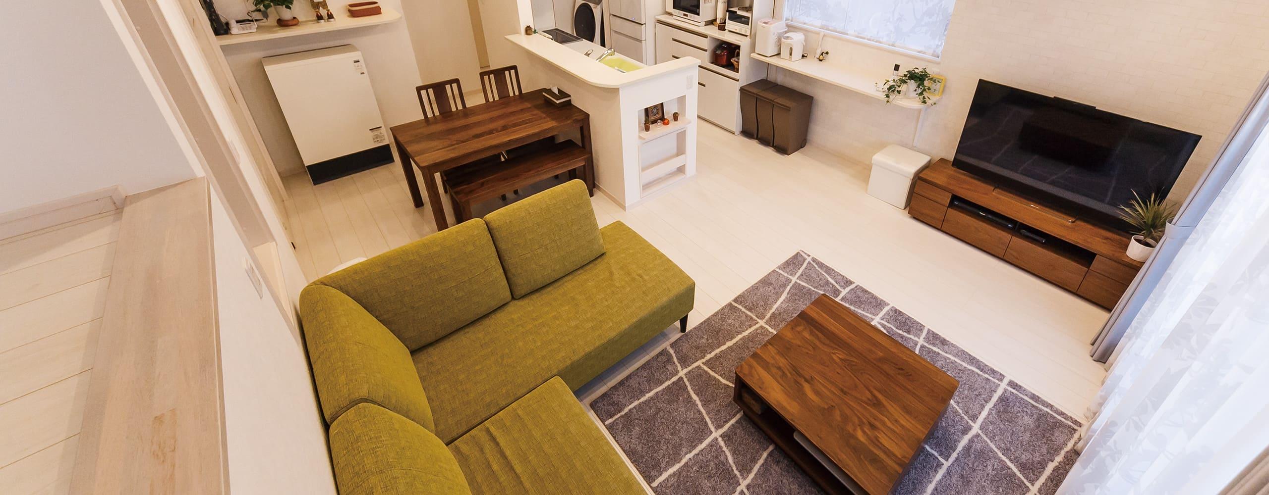 デザインされた新たな住空間のイメージ写真