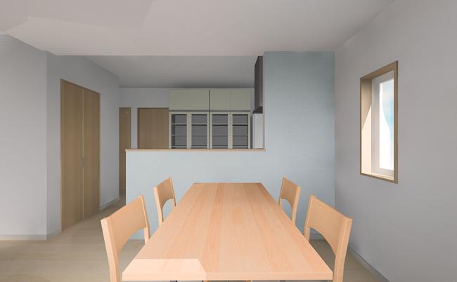 2階ダイニングキッチン イメージ