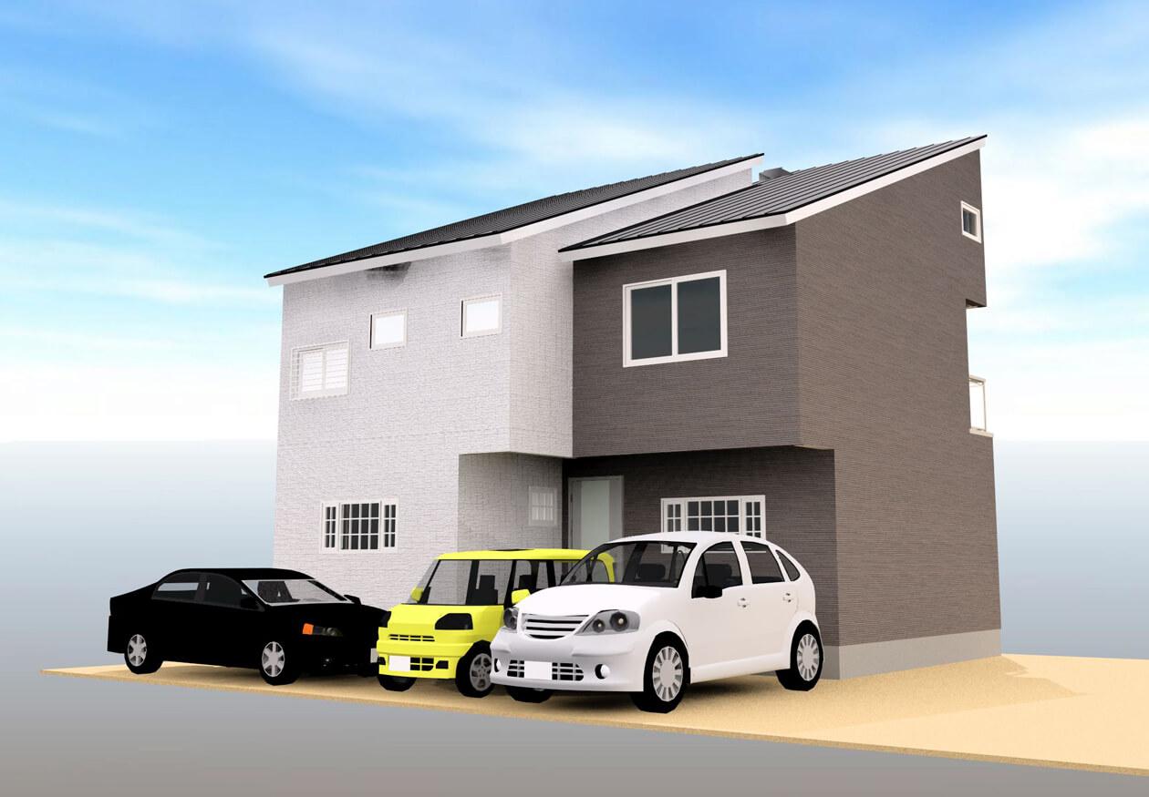 建売住宅の写真を紹介